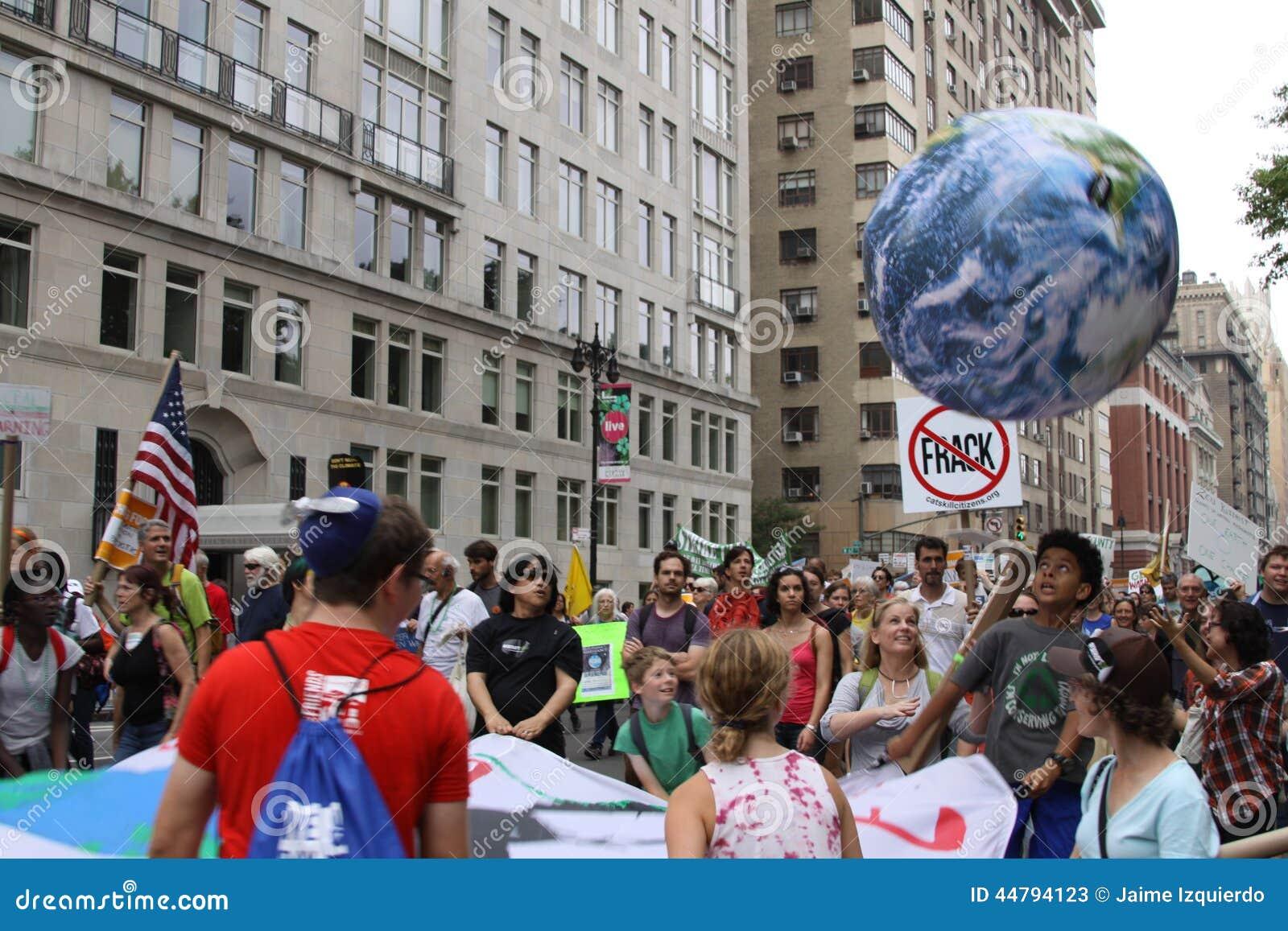 Climat mars NYC 2014