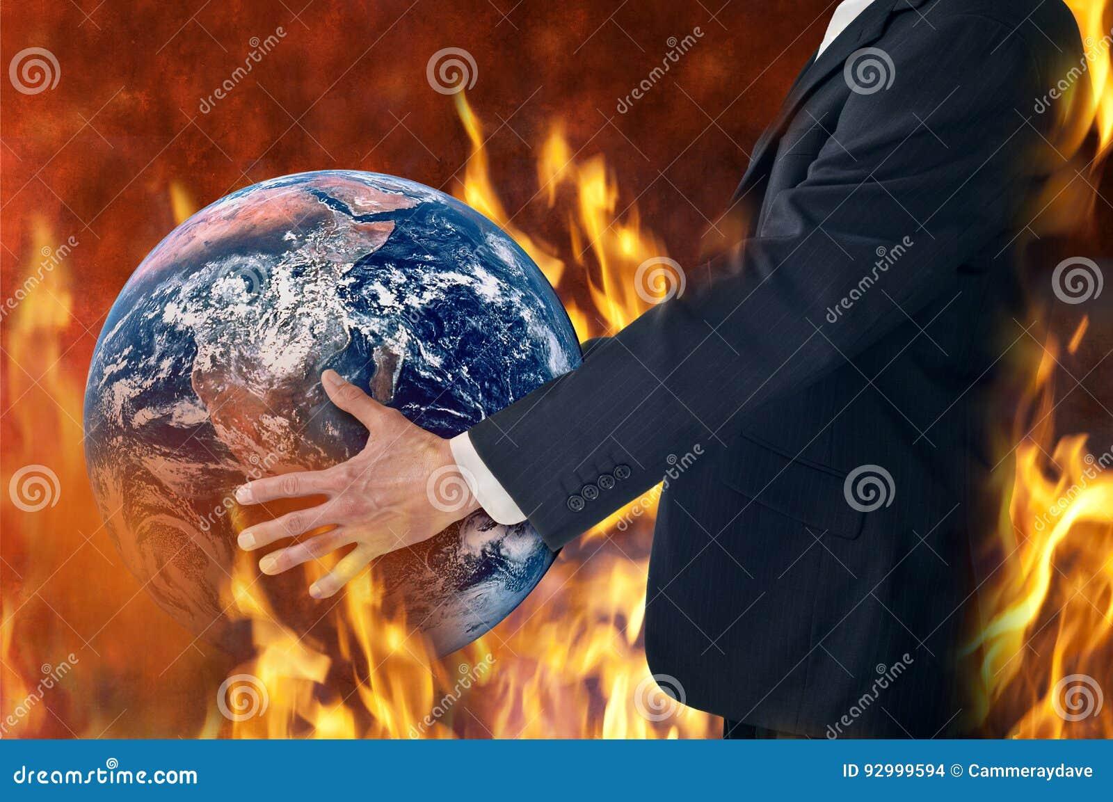 Climate Change Global Fire Heatwave Business Trump