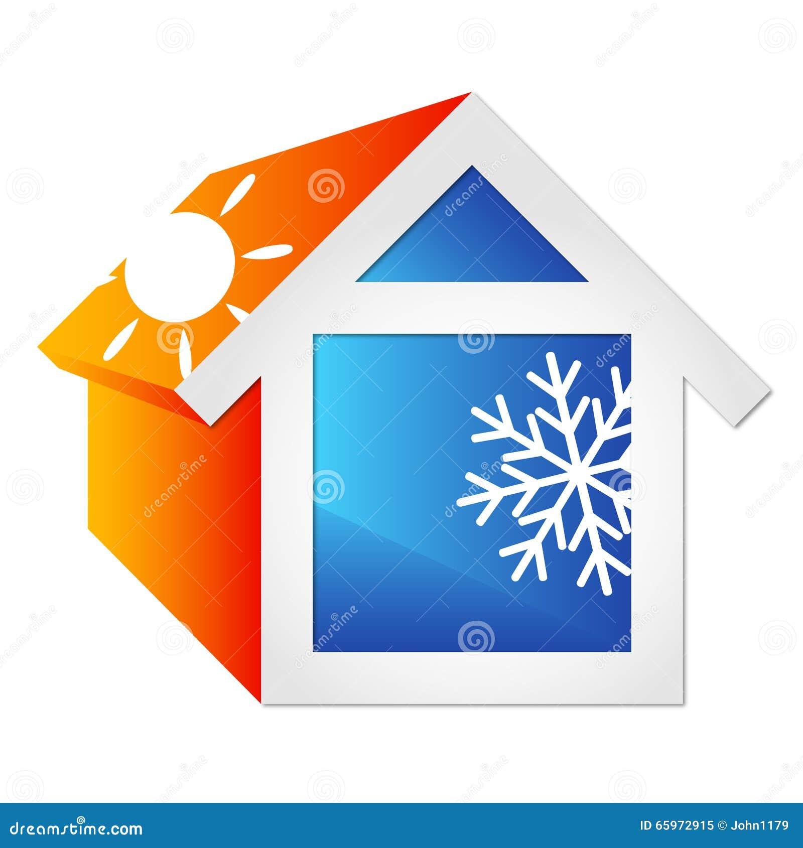 Climatisation pour la maison illustration de vecteur image 65972915 - Climatisation pour maison ...