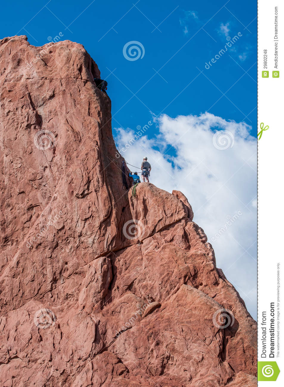 Rock climbing editorial stock photo image 29802248 for Garden of the gods rock climbing