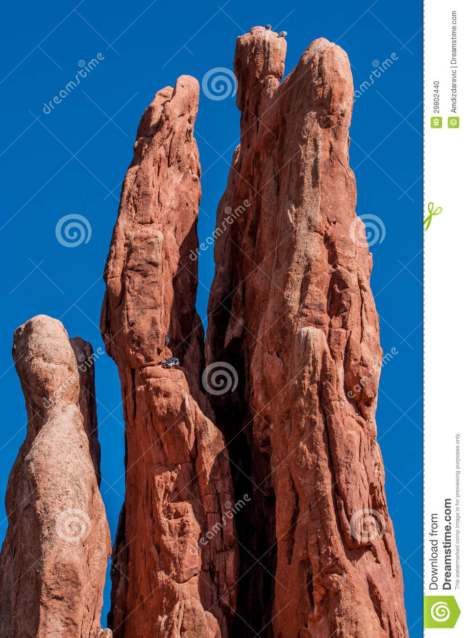 Rock Climbing Stock Photo Image 29802440