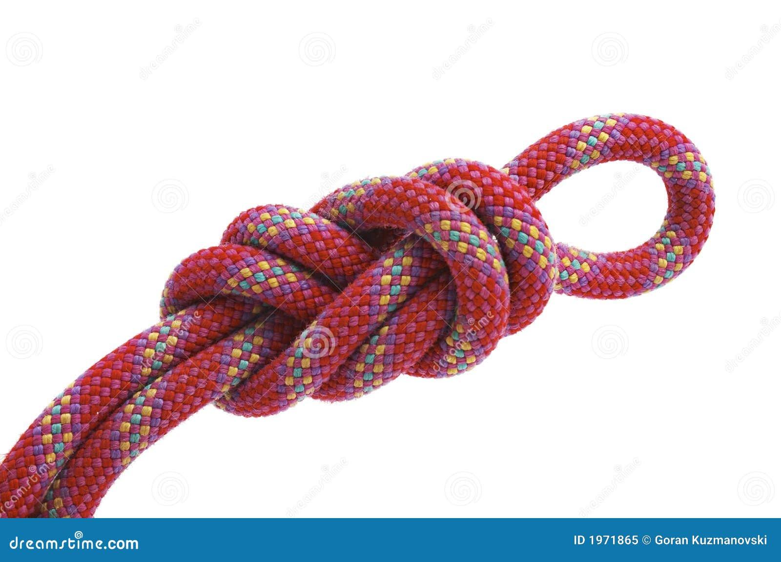 Climbing knot, figure eight