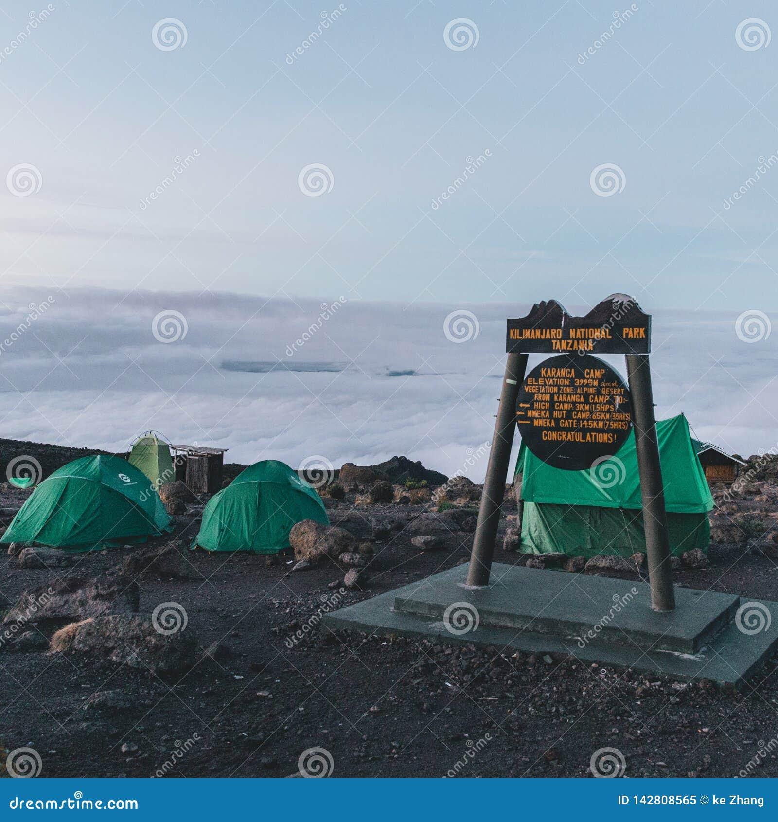 Climbing Mt Kilimanjaro in Tanzania Africa