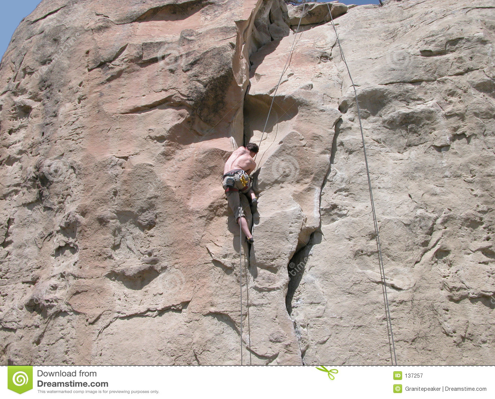 Climbing the Rock Wall