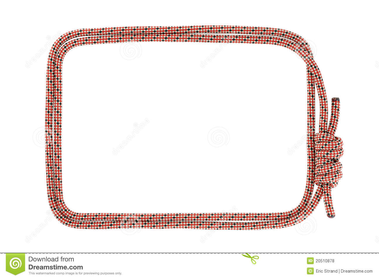 Climbing rope frame royalty free stock photos image Rope photo frame