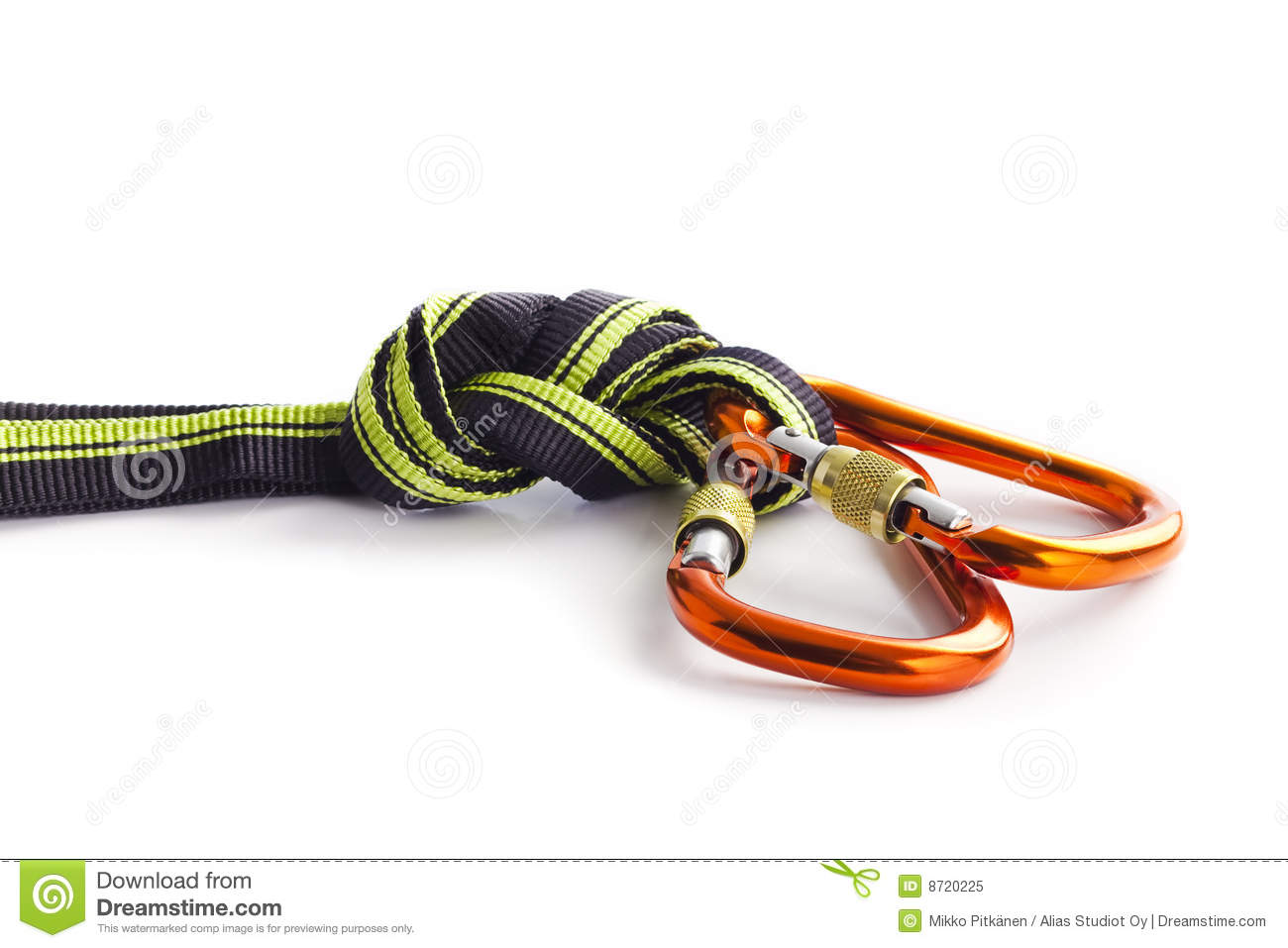Climbing Rope On The Table Royalty Free Stock Photo ...