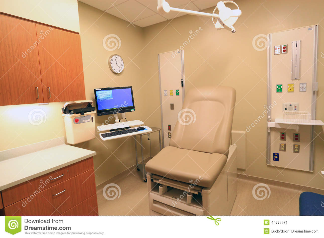 clinic medical exam room stock photo image 44779581