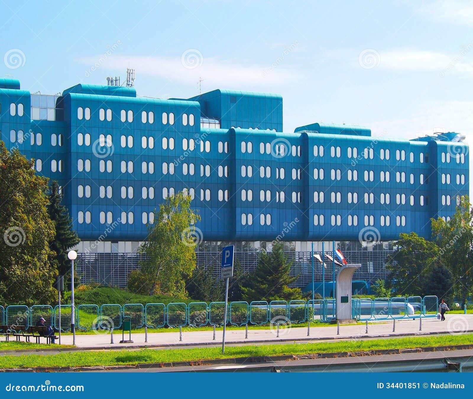Clinical Hospital Dubrava Editorial Photo Image Of Croatia 34401851