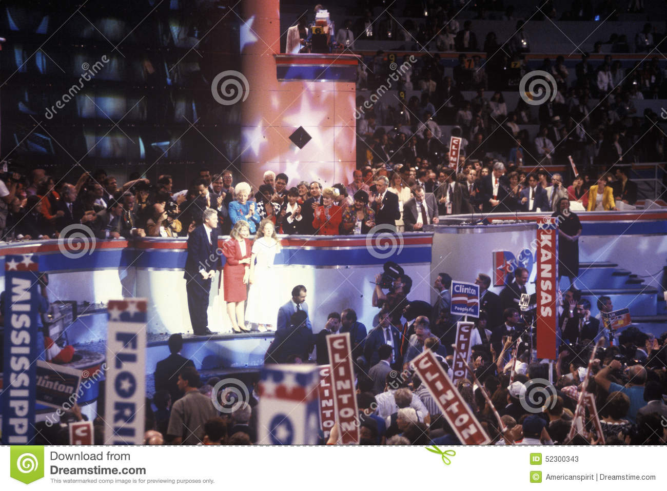 The Clinton Family Accepts The...