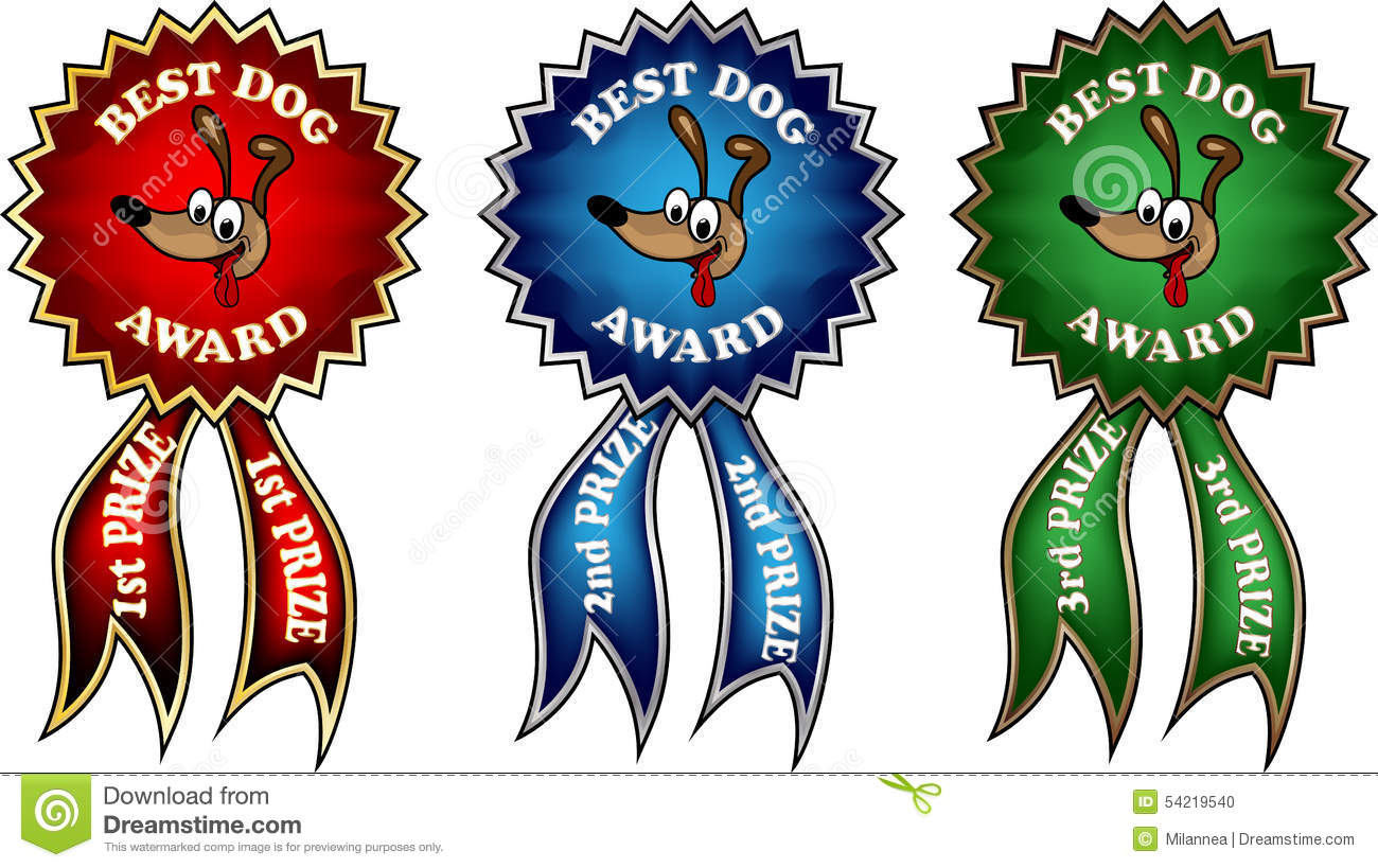 2nd place stock vector illustration royalty free 2nd place clipart - Clip Art Best Dog Award Ribbons Stock Vector Image 54219540