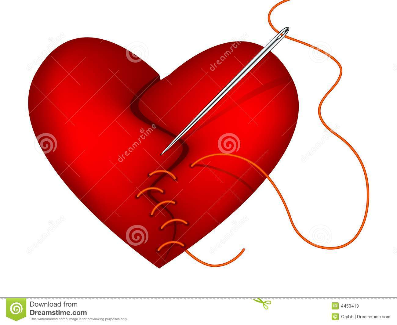 clip art of broken heart and needle stock vector illustration of rh dreamstime com broken heart clipart png broken heart clipart free