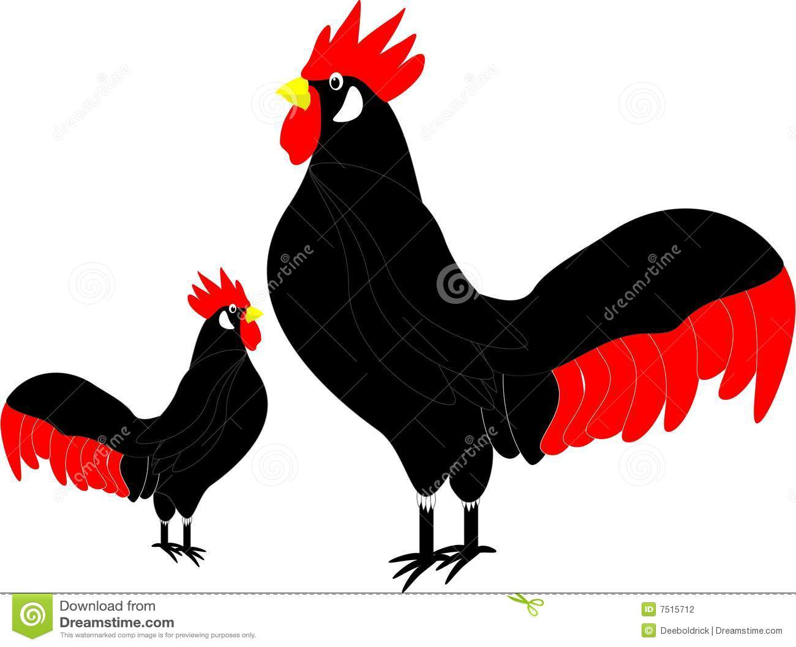 clip art rooster stock vector illustration of proud illustration rh dreamstime com Cartoon Rooster Clip Art Crowing Rooster Clip Art