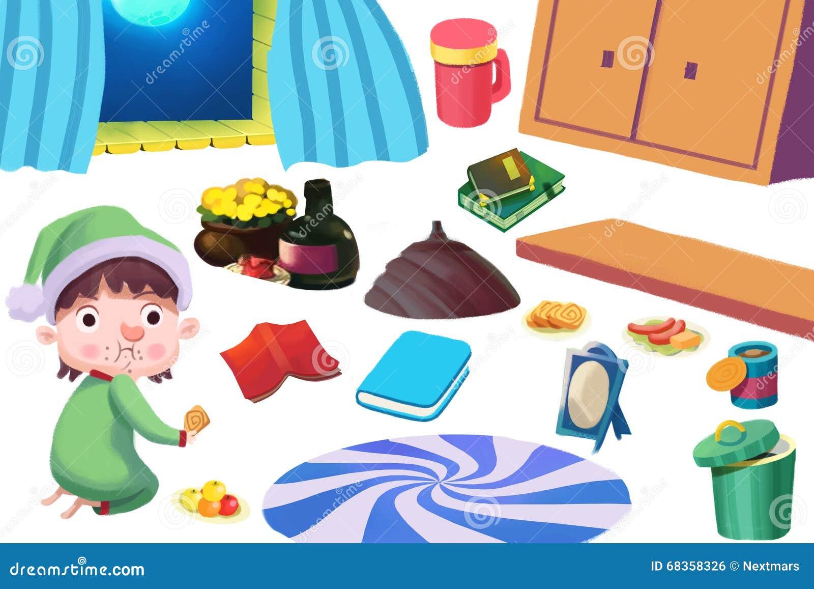 Play kitchen clip art - Royalty Free Illustration Download Clip Art