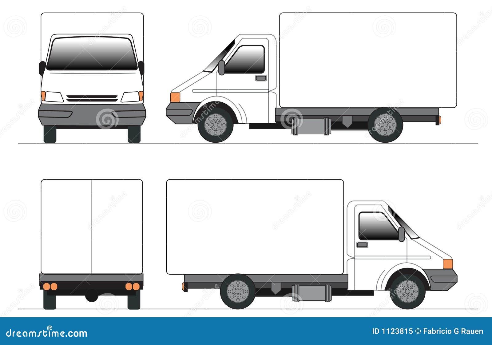 Clip-art truck