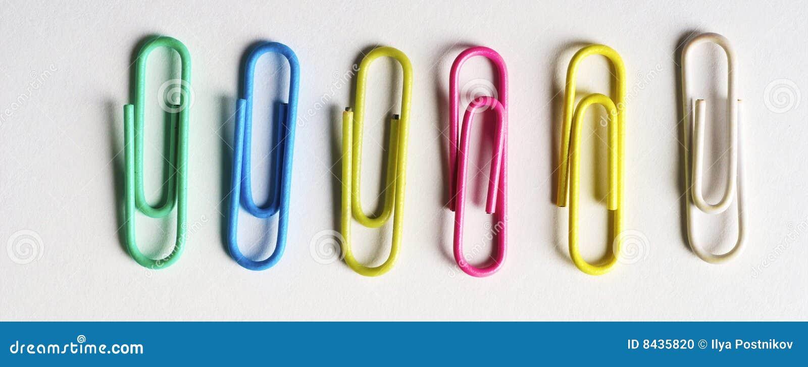 Clip colorata