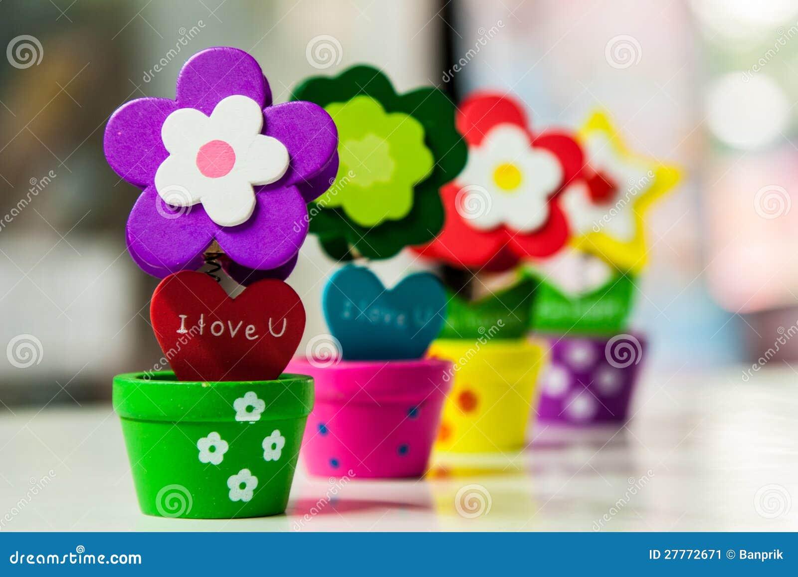 Clip de fleur dans le vase