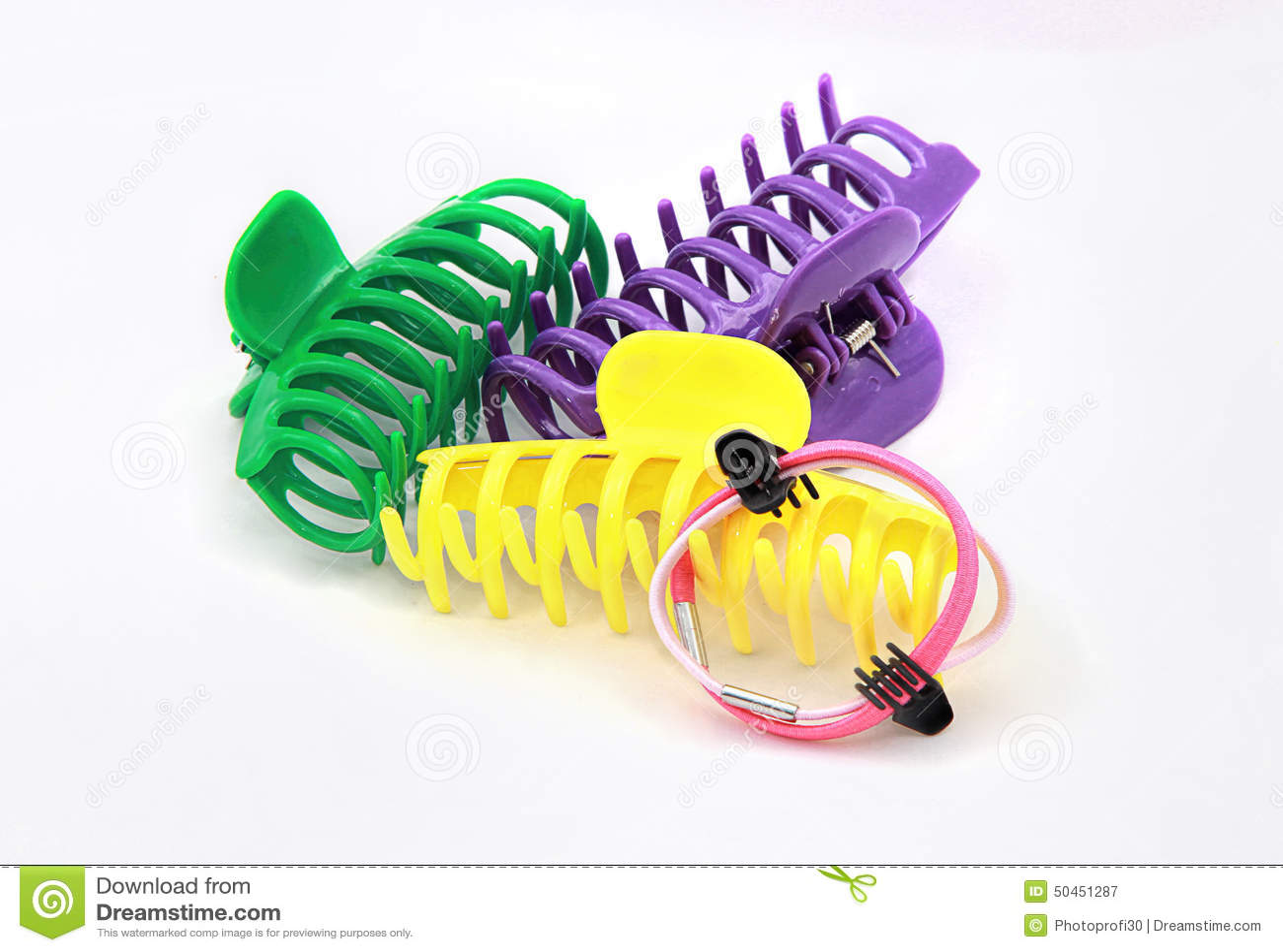 Clip di capelli Colourful del granchio