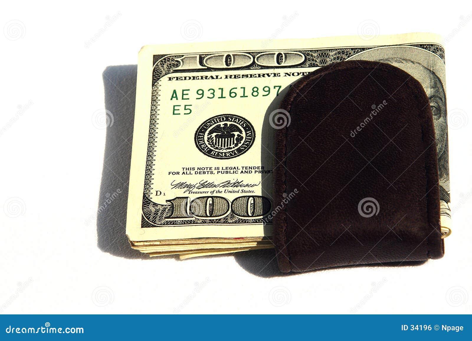 Download Clip II del dinero foto de archivo. Imagen de clip, dinero - 34196
