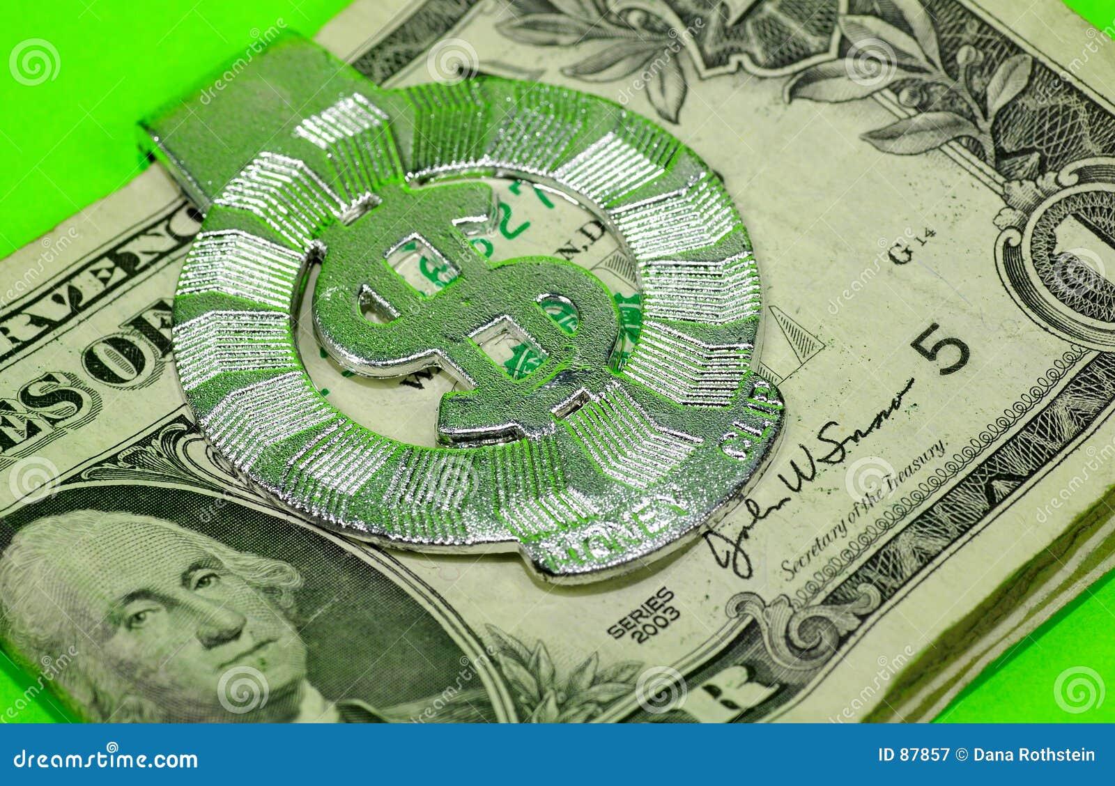 Clip pieniądze