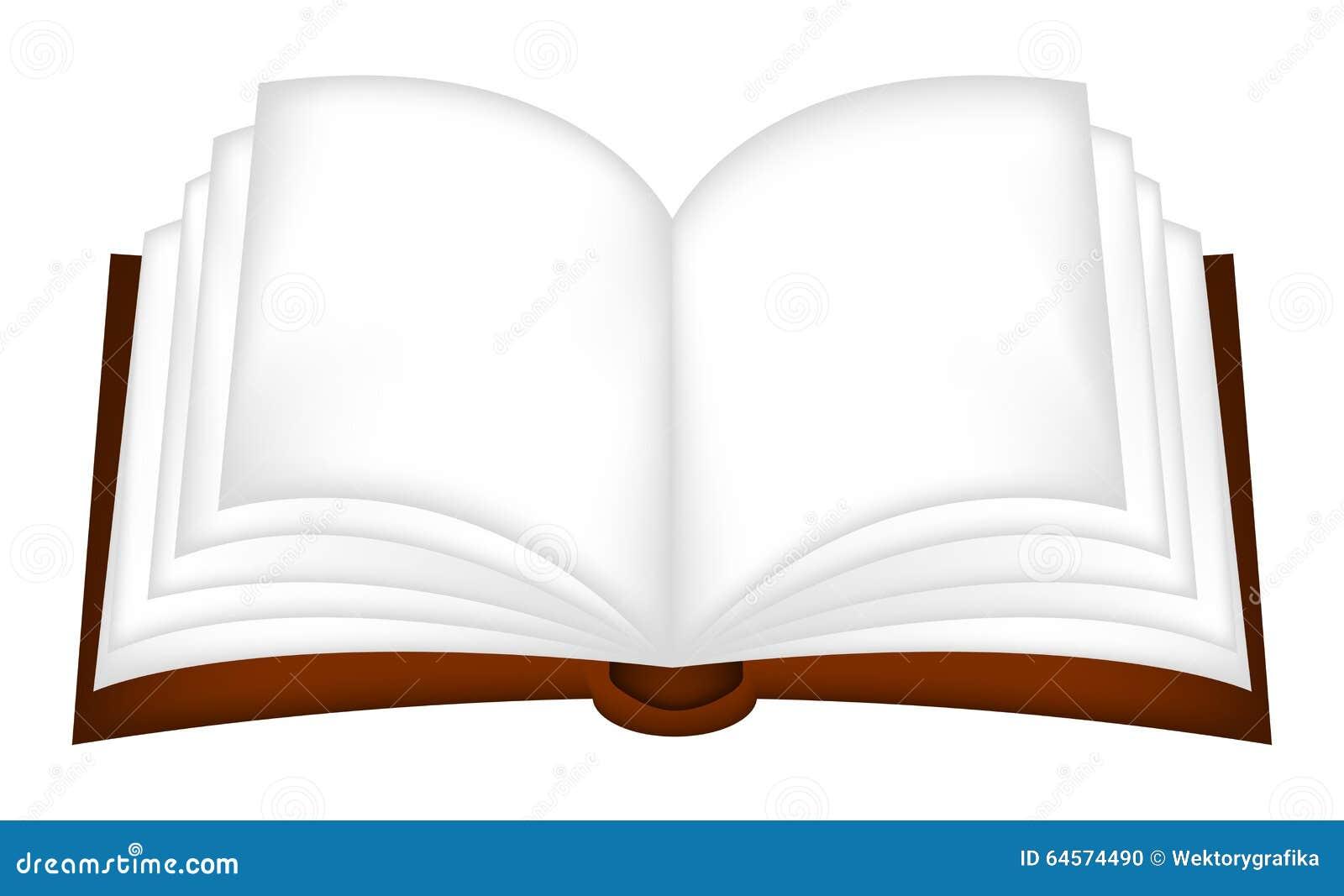 Clipart di vettore del libro aperto, simbolo, progettazione dell icona Ruota dentata