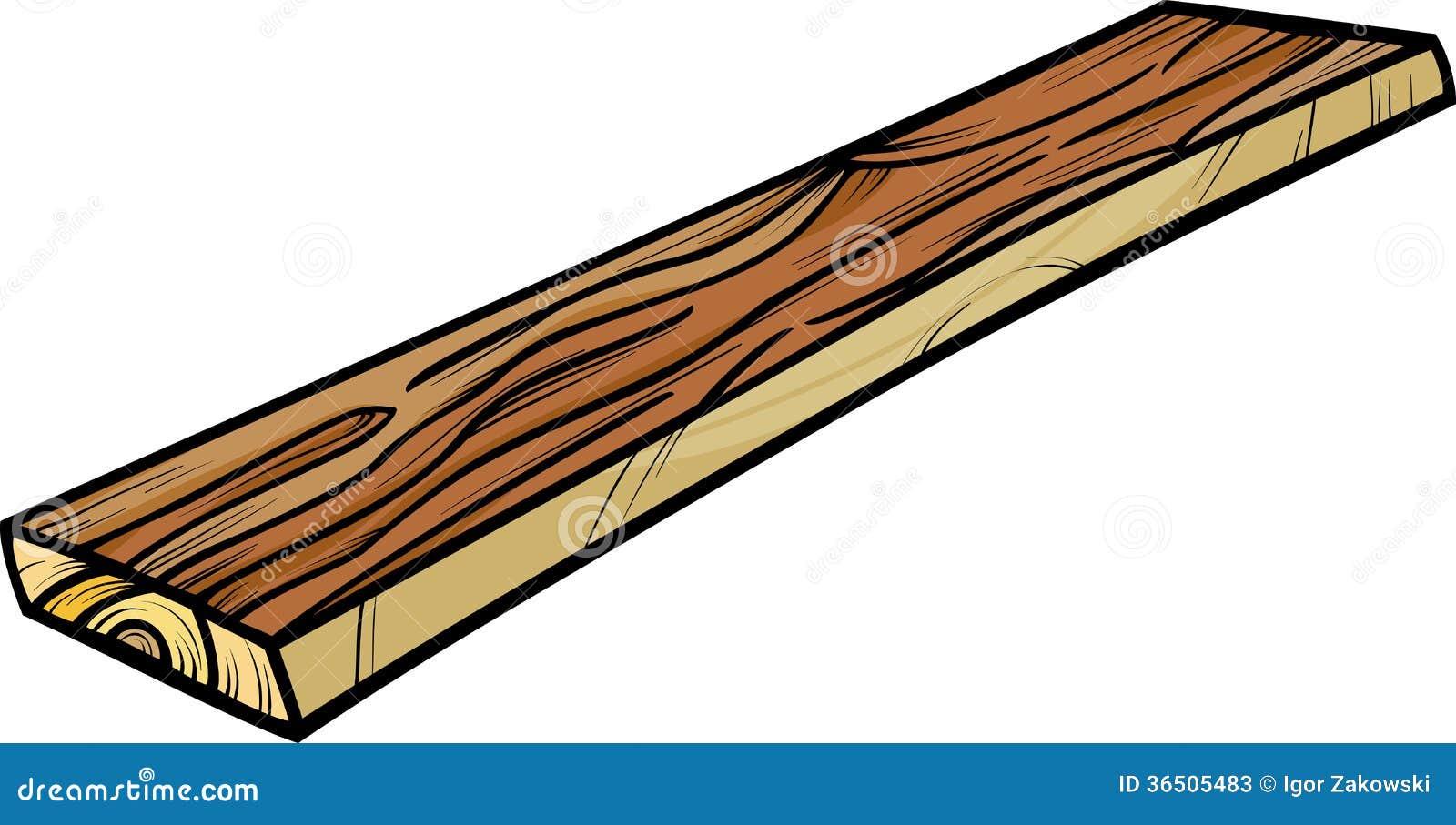 Clipart images graphiques de bande dessin e de planche - Planche a dessin en bois ...