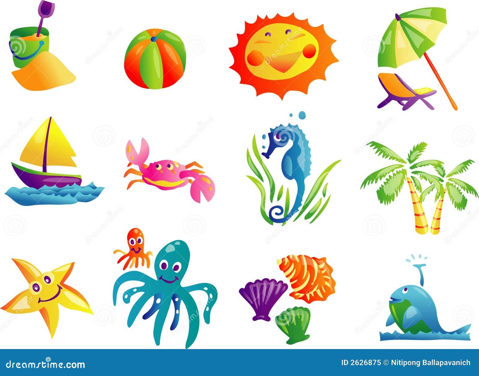Clipart Images Graphiques De Course De Plage D Ete Illustration De Vecteur Illustration Du Images Clipart 2626875