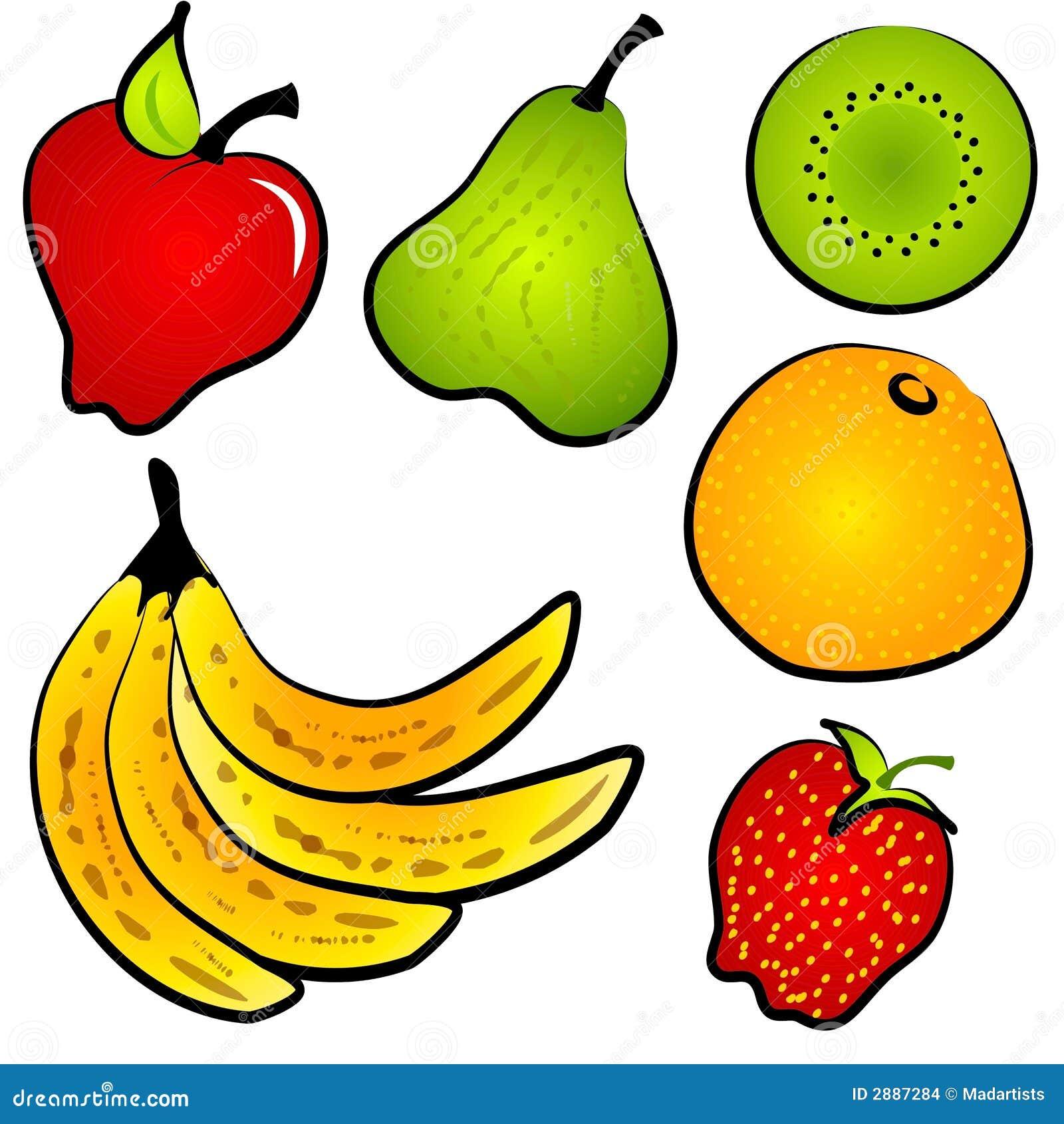 Clipart (images Graphiques) De Fruit De Nourriture De Healty Images ...