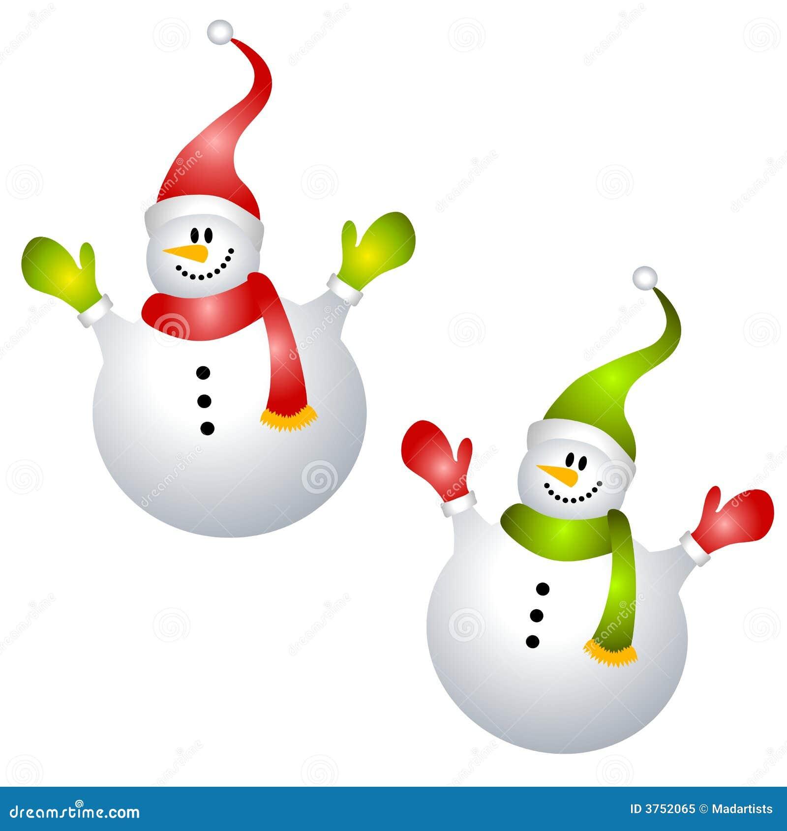 Clipart images graphiques de sourire de bonhommes de neige d 39 isolement illustration stock - Clipart bonhomme de neige ...