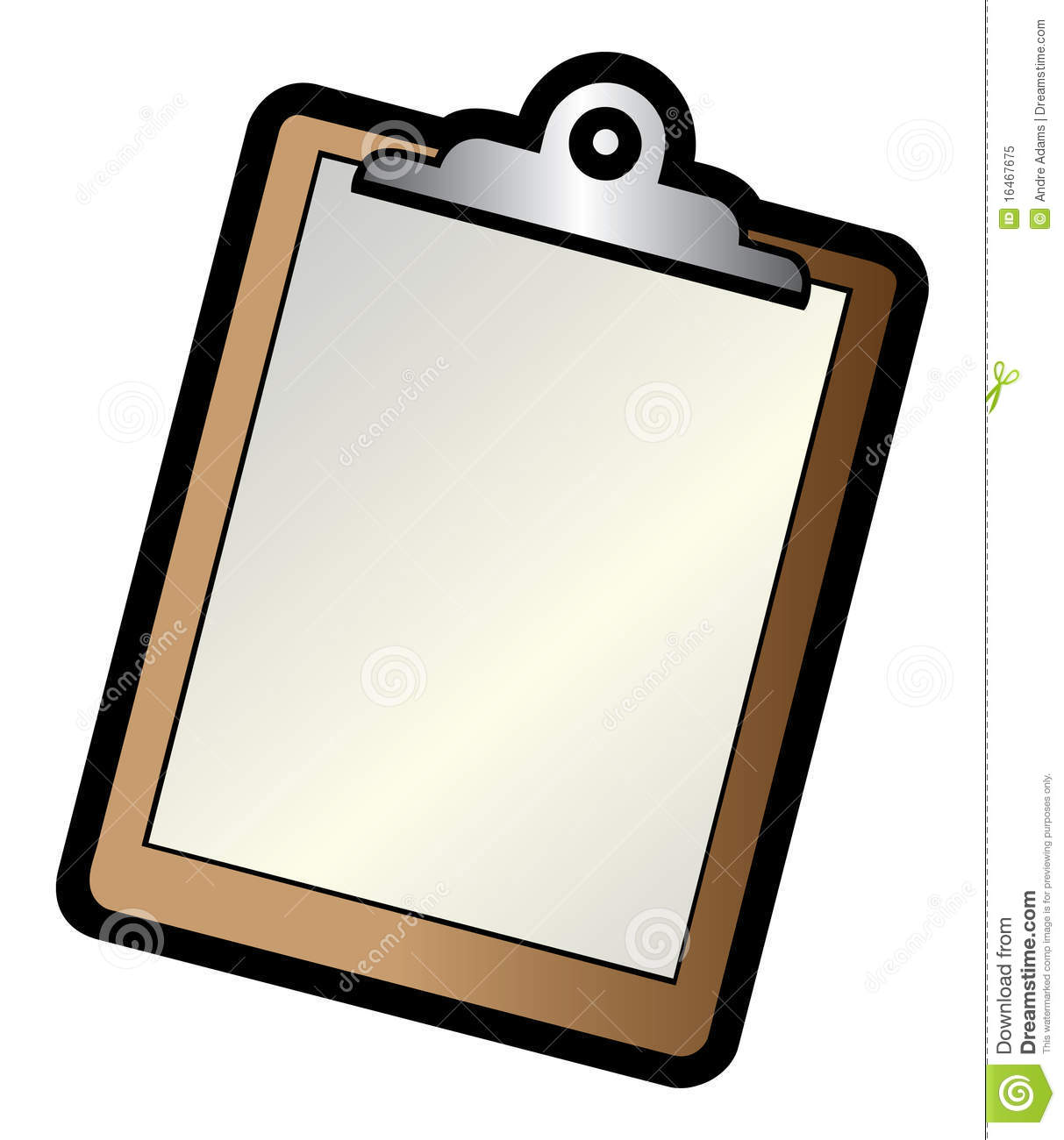Clipboard Royalty Free Stock Photo - Image: 16467675