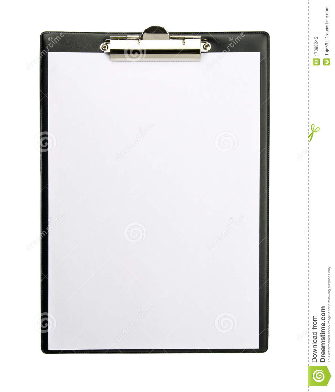 Clipboard Royalty Free Stock Photo - Image: 17388245