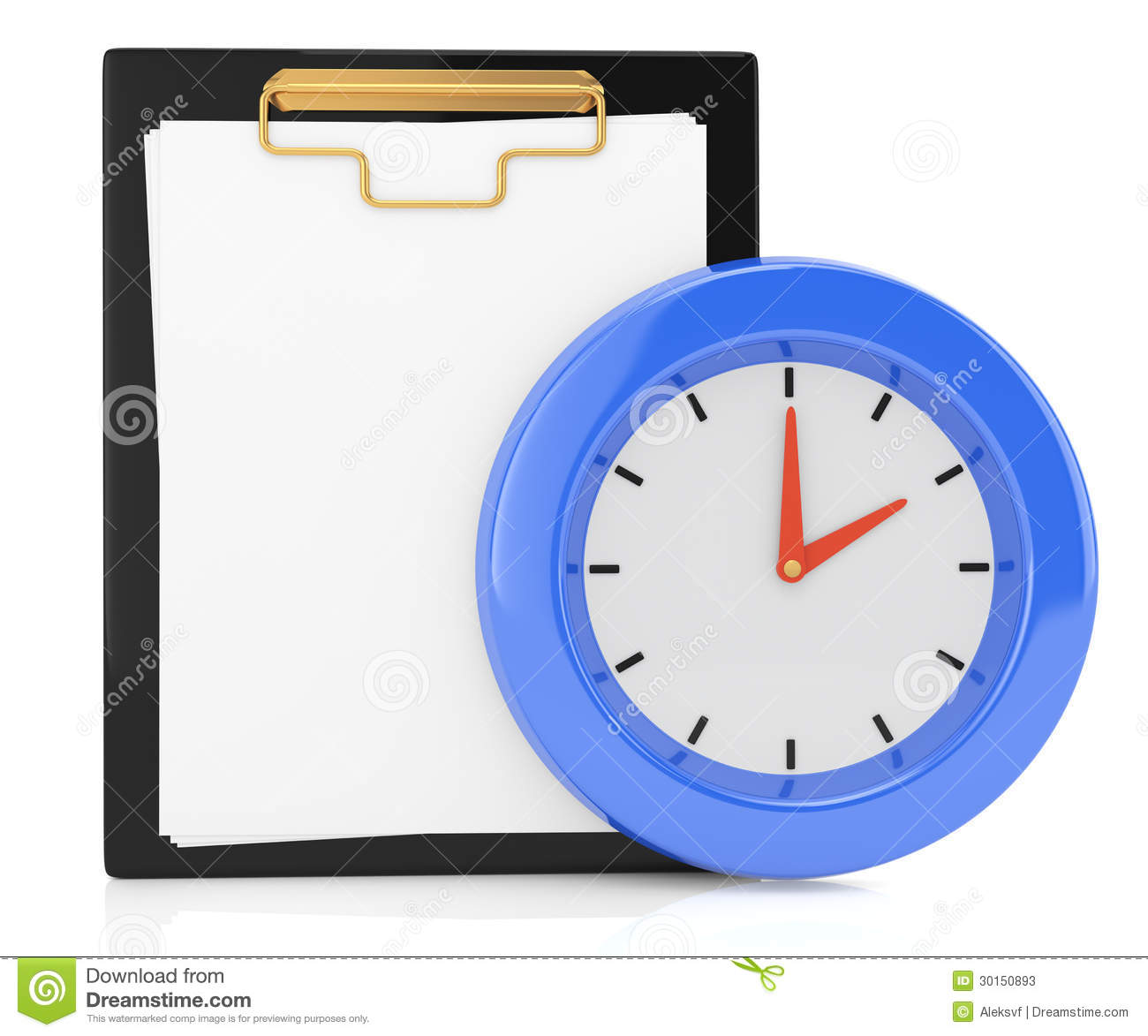 clipboard and clock stock illustration illustration of schedule rh dreamstime com storage clipboard with clock clipboard with clock timer
