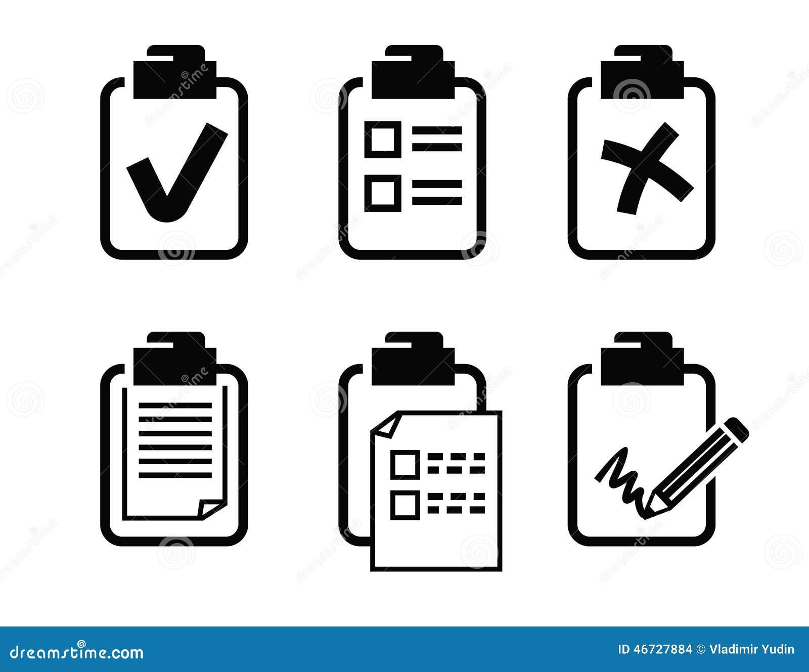 clipboard icon stock vector  illustration of clip  icon