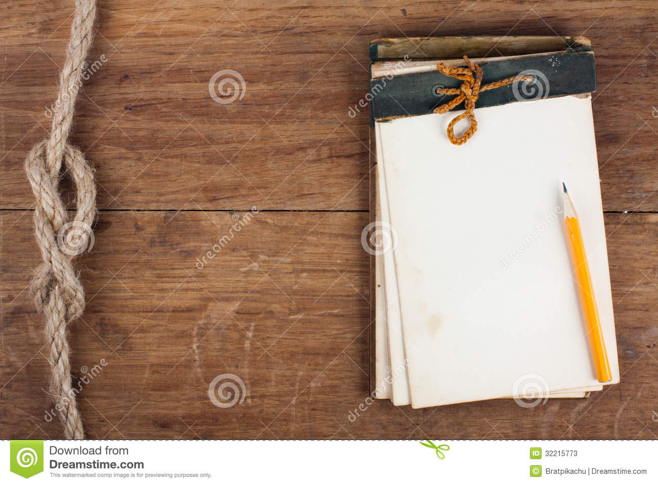Clipboard On Wooden Background Stock Image Image of closeup