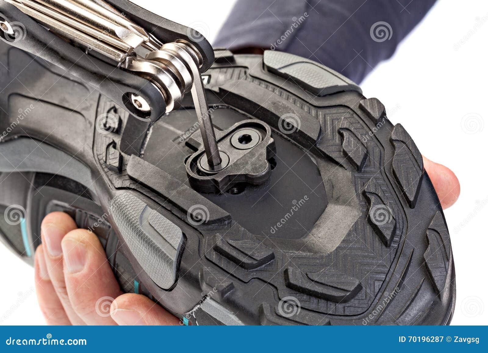 Clipless pedal för installation till de cykla skorna