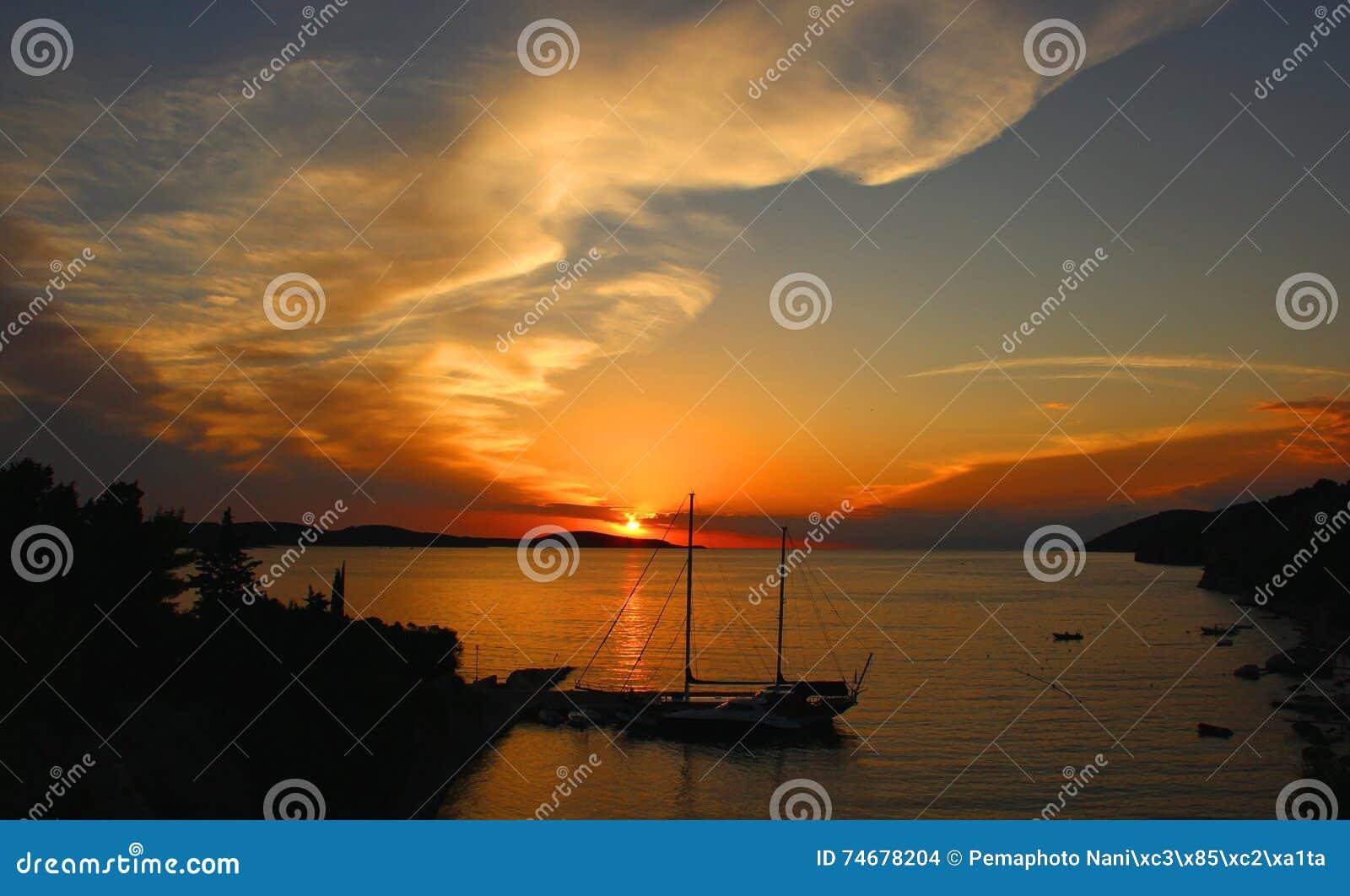 Clipper in Sunset