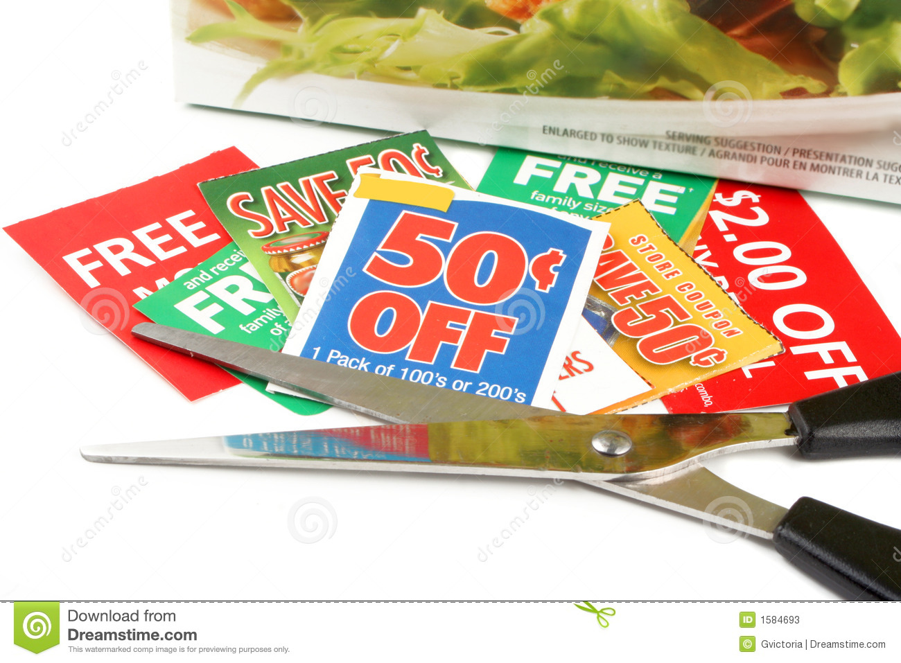 clipped coupons