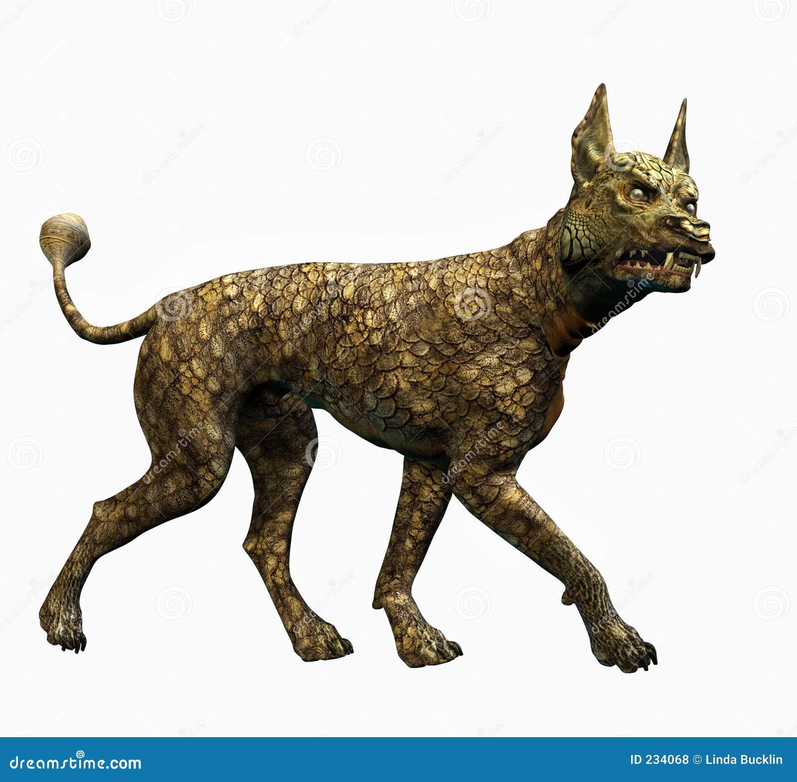 Clippinghunden inkluderar ödlabanan