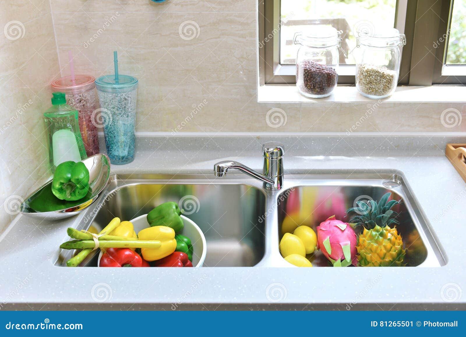 Clippingmappen inkluderar kökbanavasken