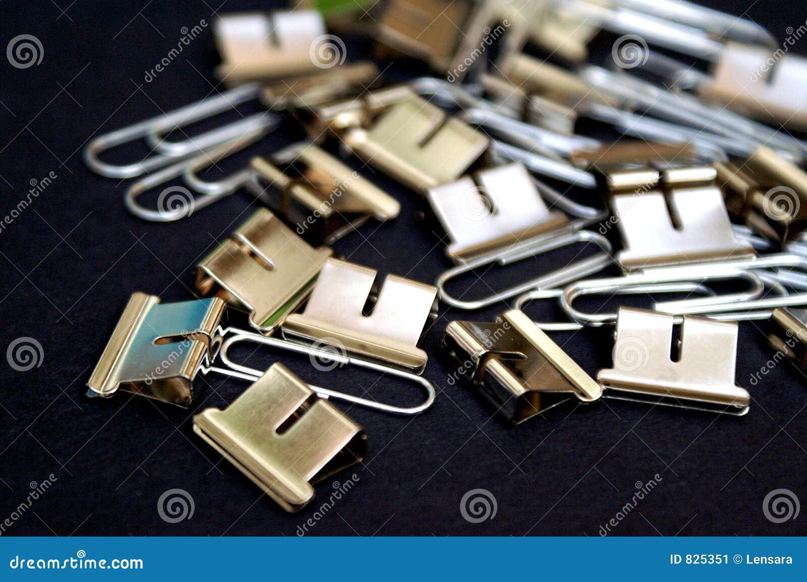 Clips de acero de la oficina imagen de archivo imagen for Xxx porno en la oficina