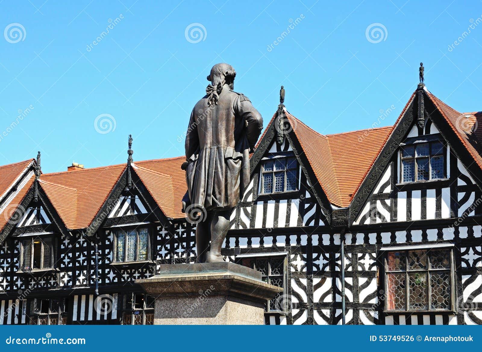 Clive of India Statue, Shrewsbury.