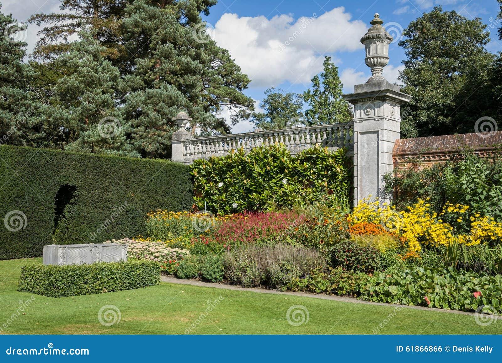Cliveden Haus Gärten England Stockfoto Bild Von Britisch Villa