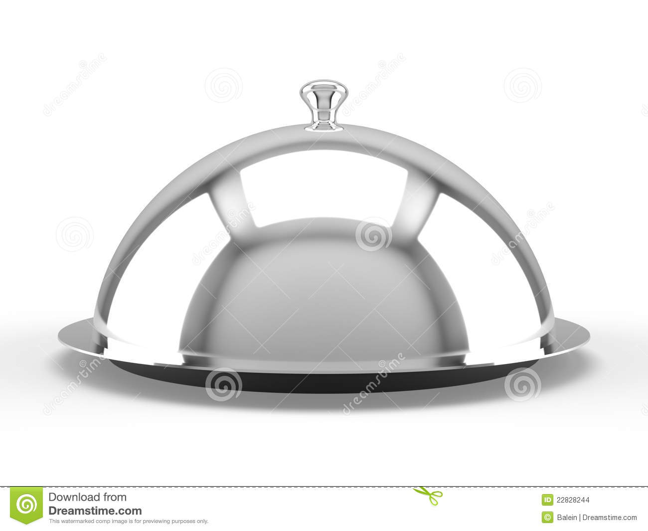 Cloche de restaurant images stock image 22828244 - Cloche de cuisine ...