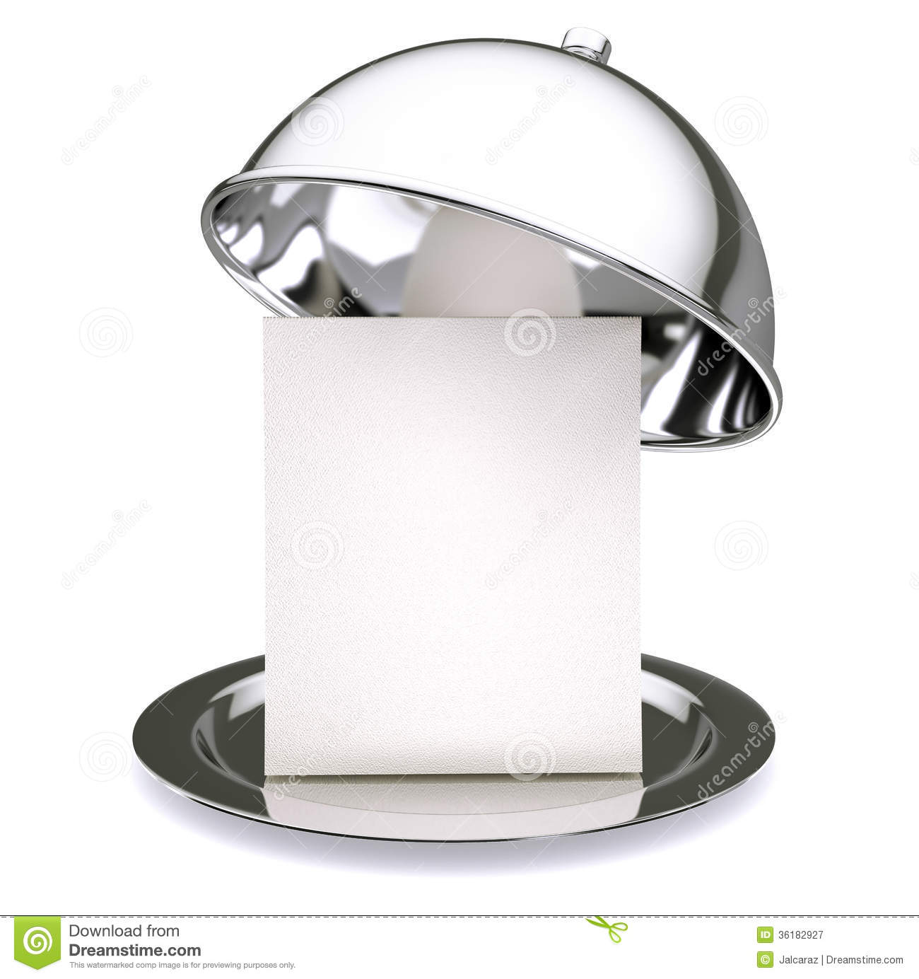 Cloche de restaurant photographie stock libre de droits - Cloche de cuisine ...