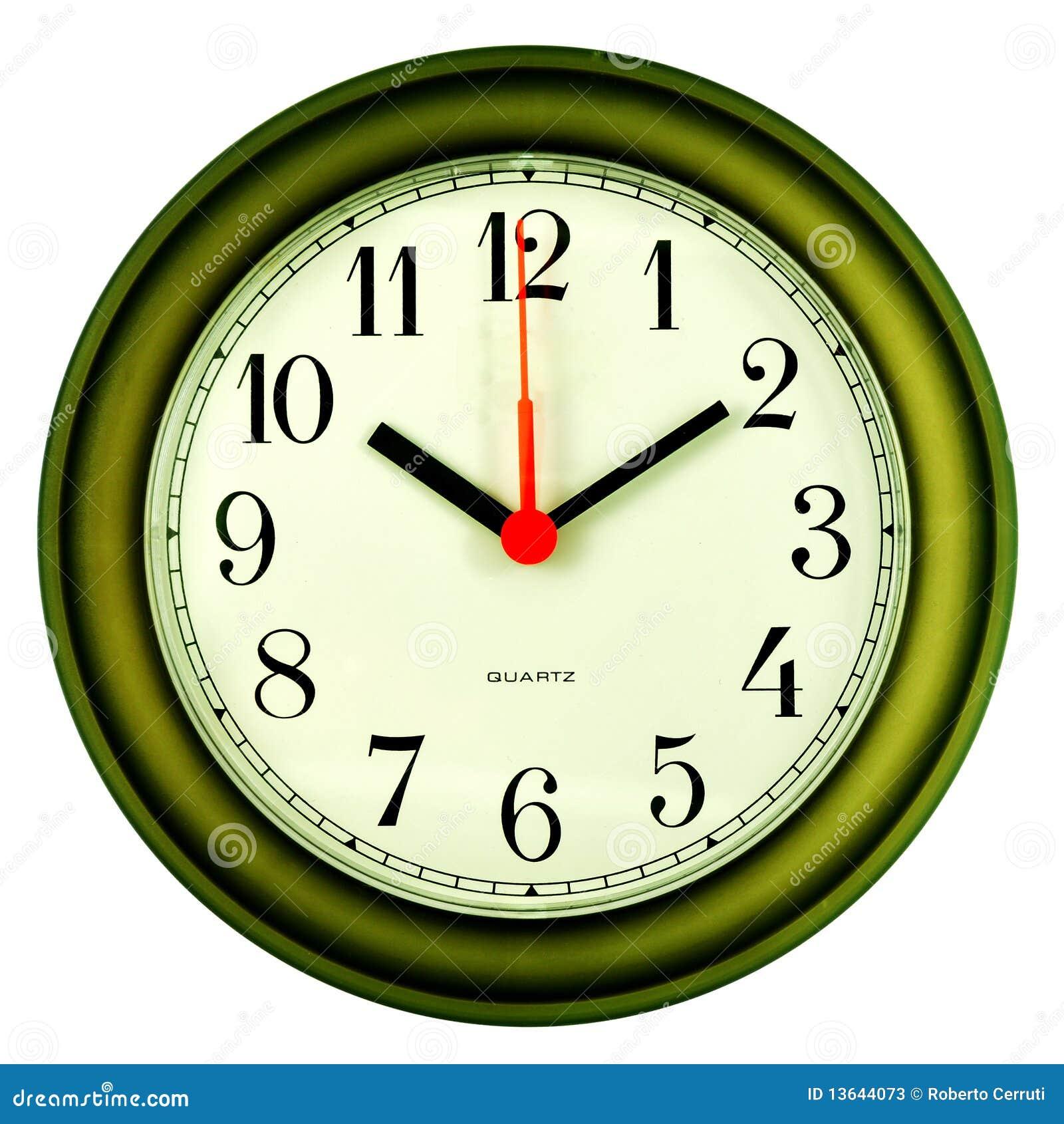 Clock On 10 Past Ten Stock Photos Image 13644073