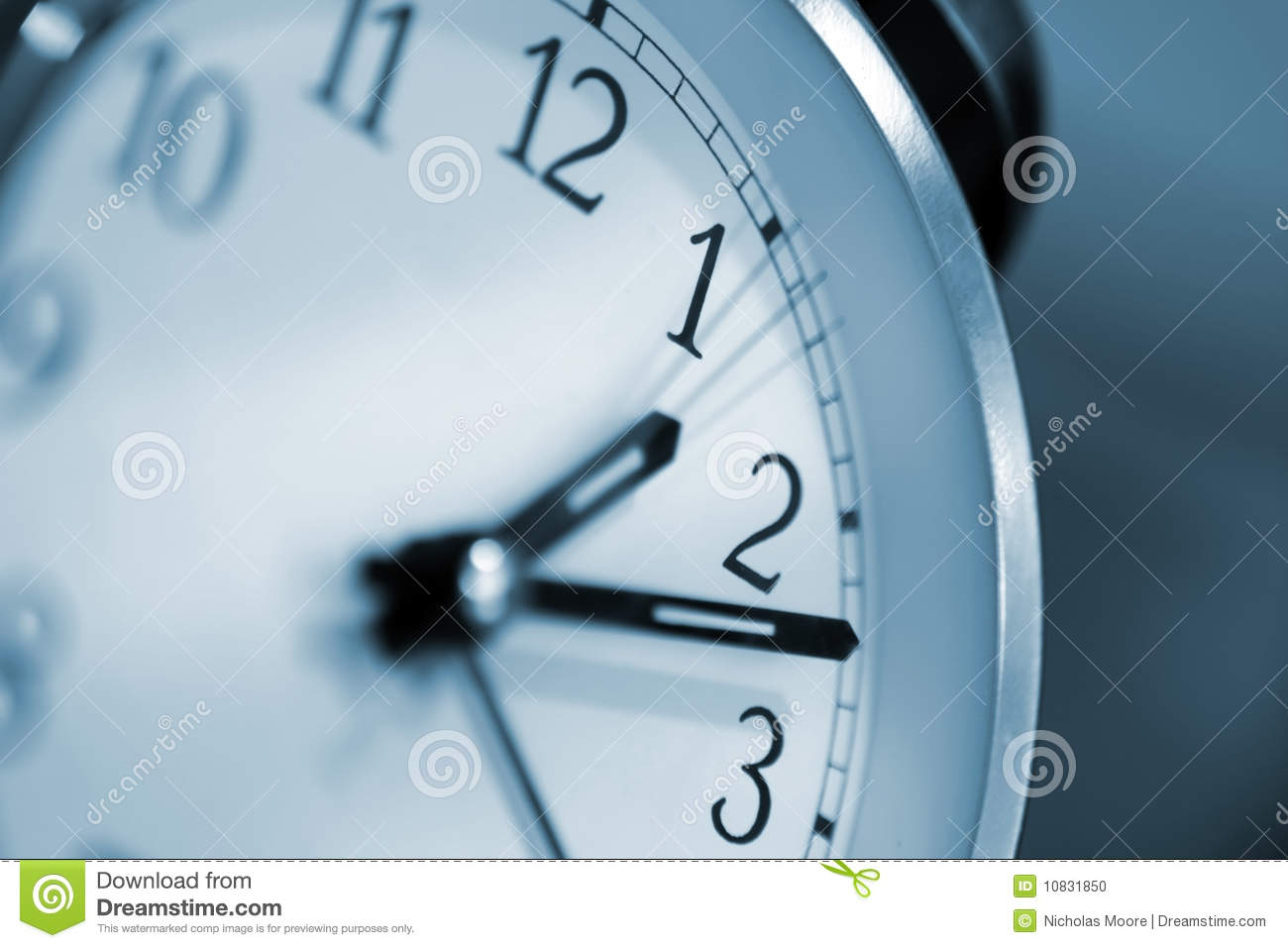 Clock Stock Photo Image Of Afternoon Light Second