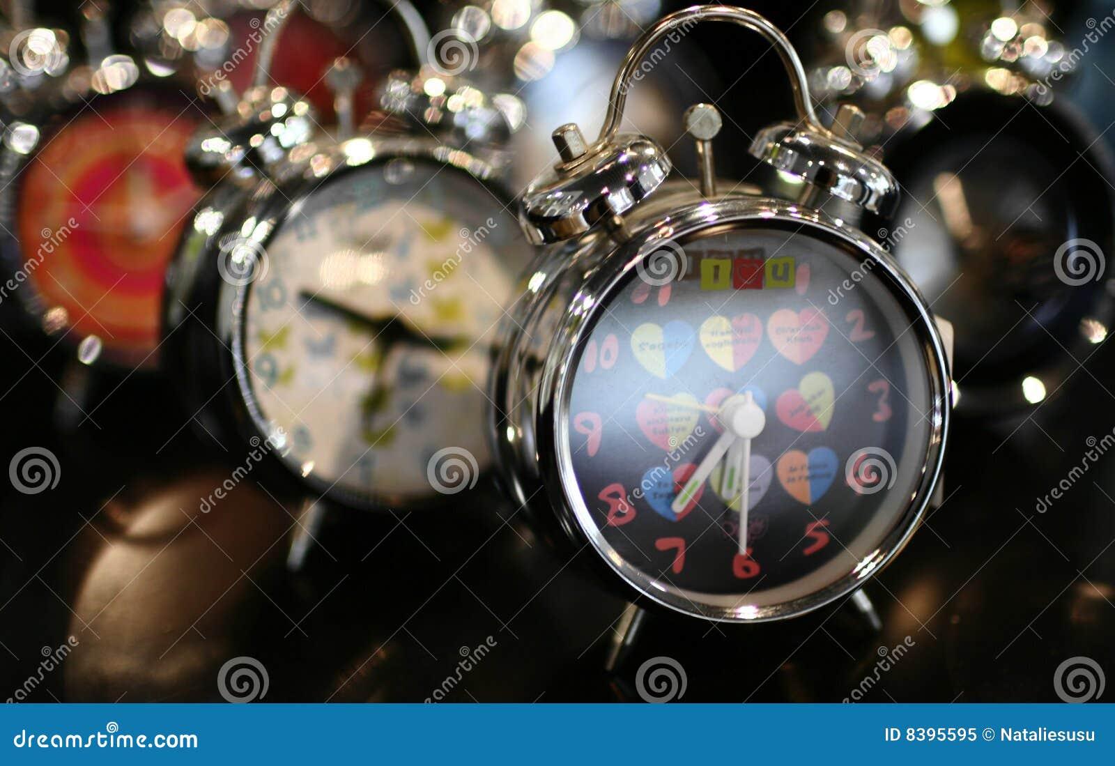 Download Clock stock image. Image of awake, deadline, macro, ring - 8395595