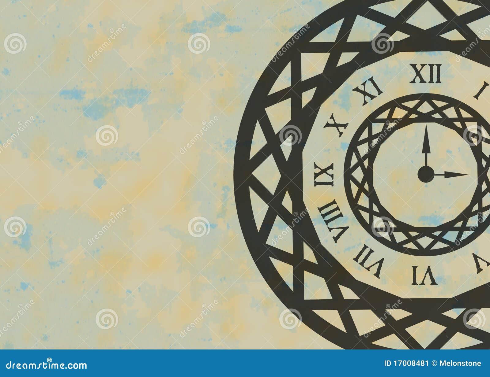 Clock Background Stock Image Image 17008481