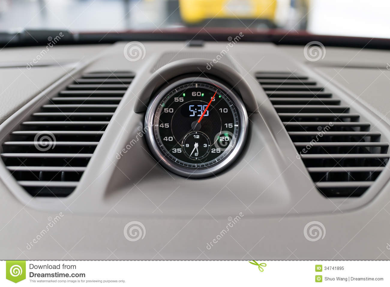 Image result for Car Dashboard Clock