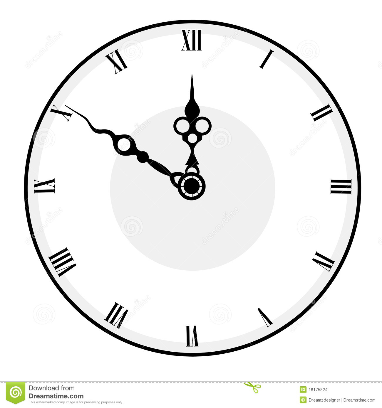 Clock Face Stock Images Image 16175824