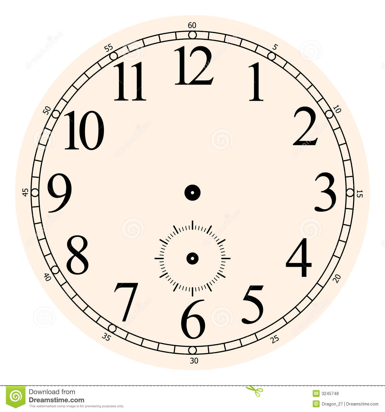 worksheet Clock Face With Hands clock face royalty free stock photos image 3245748 photo download face